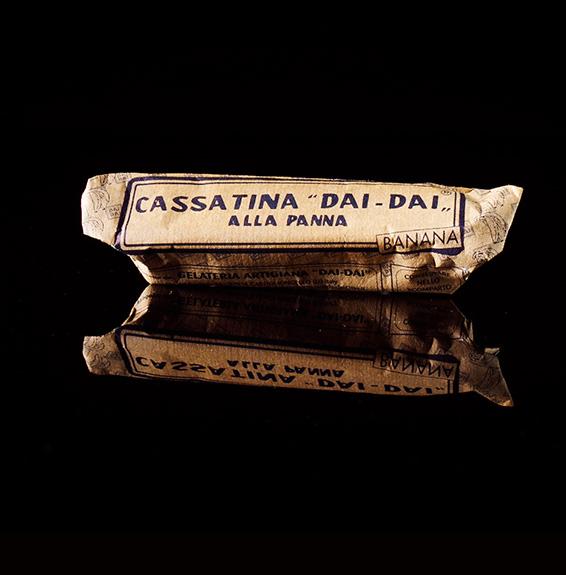 Cassatina alla banana confezionata Dai Dai