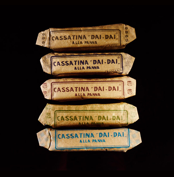 Cassatine confezionate Gelateria Dai Dai