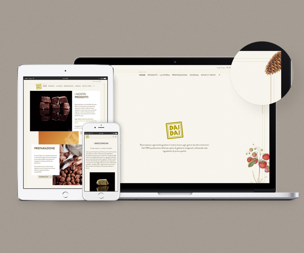 Il nuovo sito DAI DAI è online